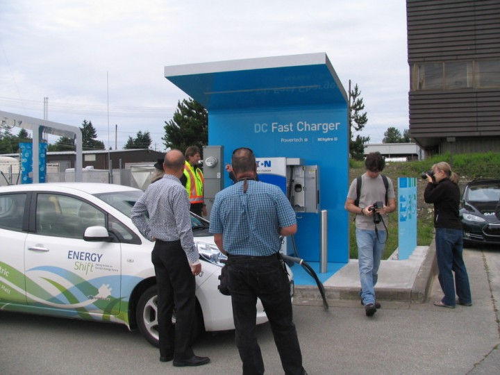 BC Hydro Level 3 Charger at Powertec Research Lab.