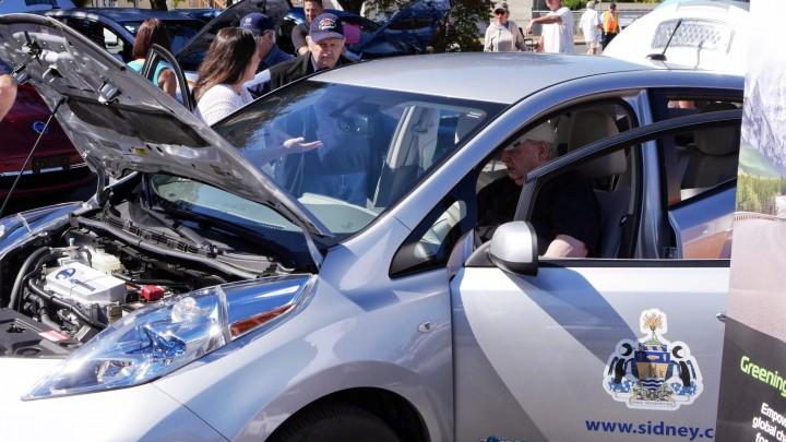 Sidney BC Nissan Leaf