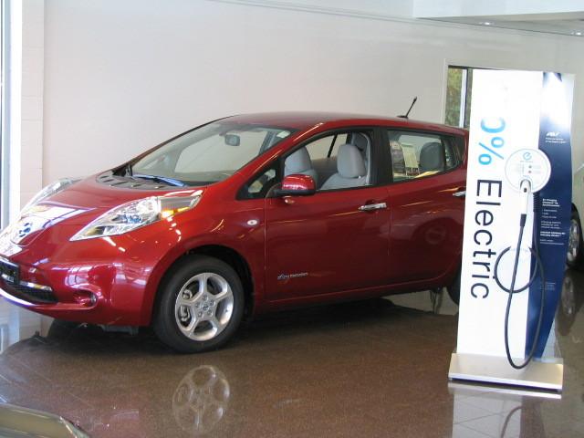 Campus Nissan Leaf Victoria BC