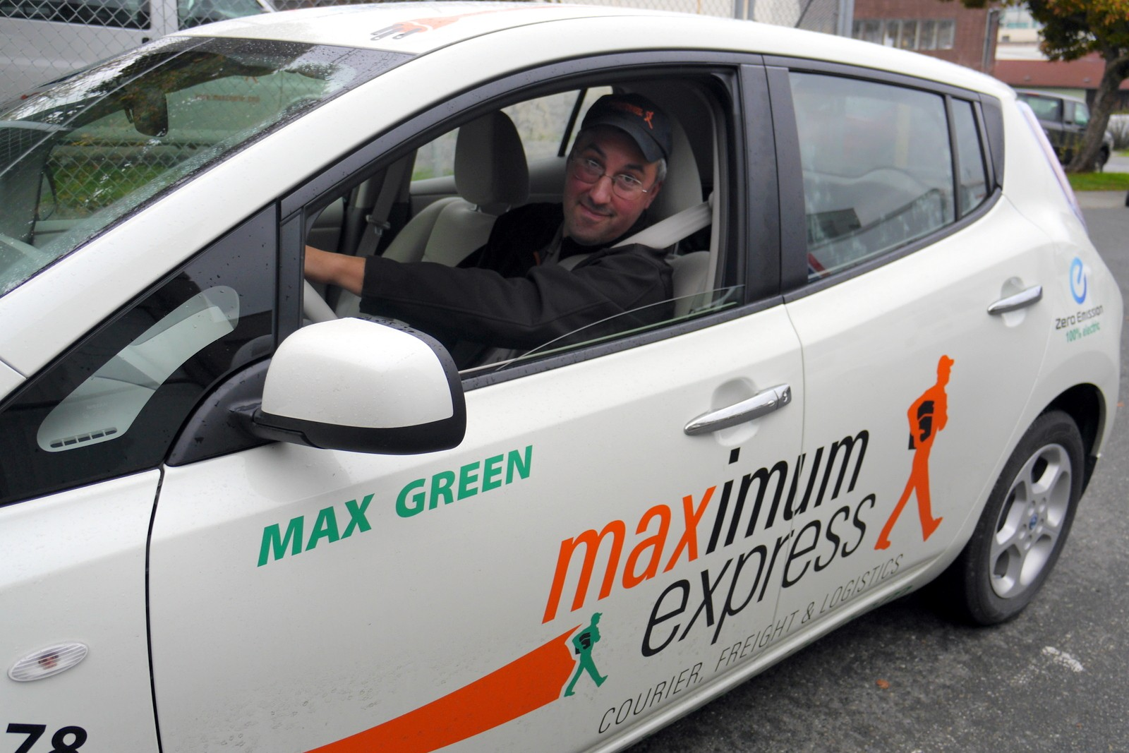 Maximum Express Courier Electric Vehicle