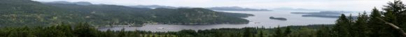Panorama of Salt Spring Island, Photo by Bruno Gonzales