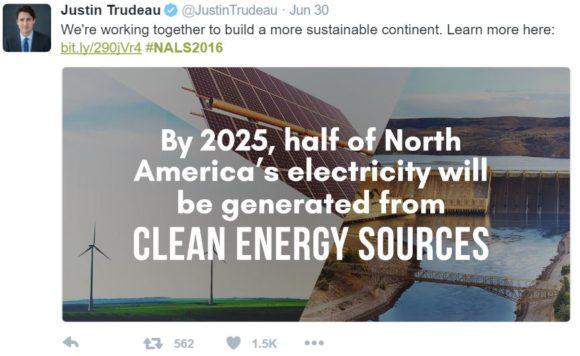Trudeau_tweet_half_electricity_clean_sources