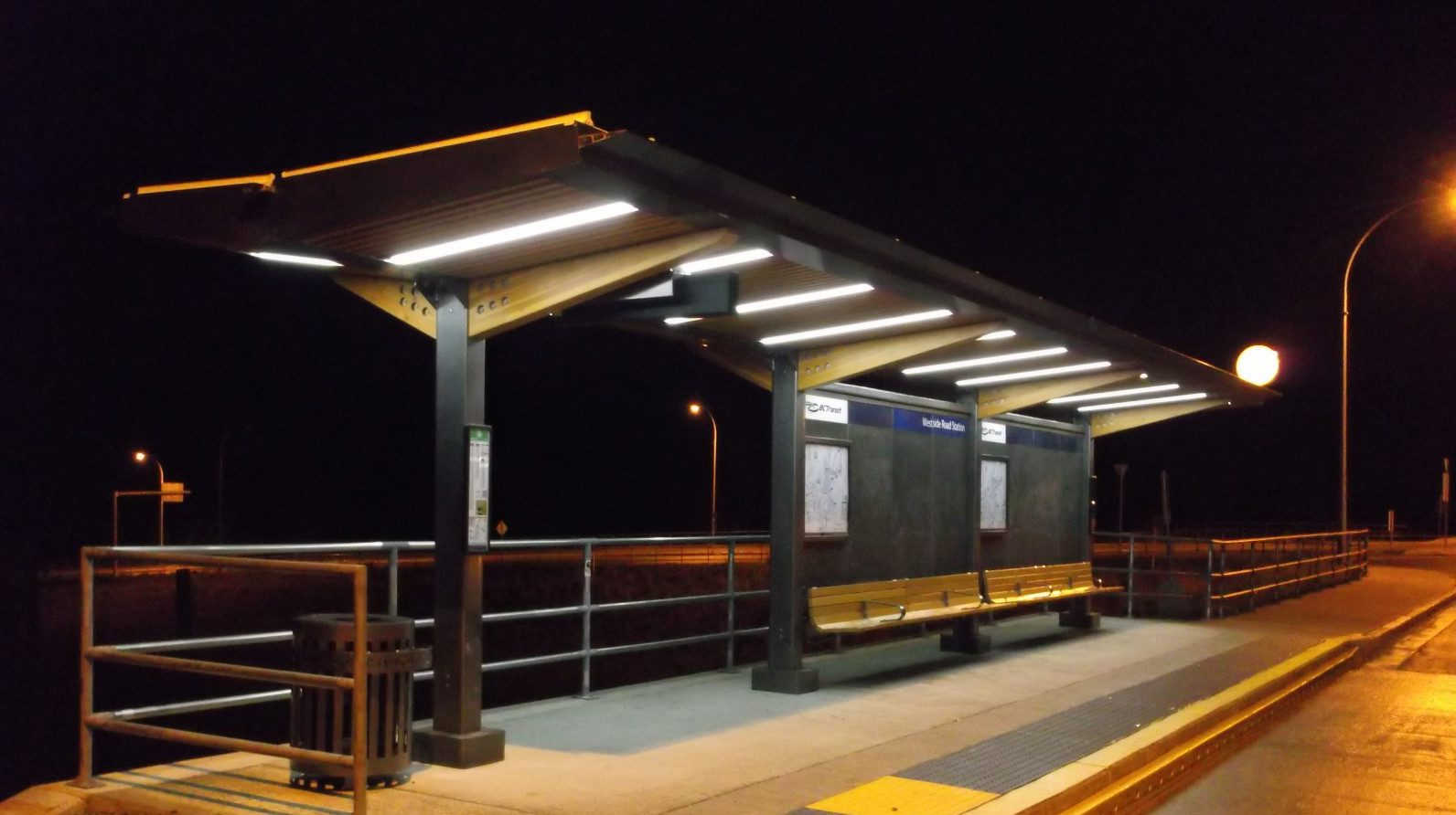 New Solar Powered Led Transit Shelters In Saanich